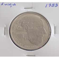 Suiça - 5 Francs - 1983 -...