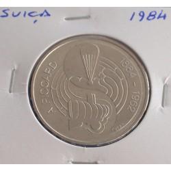 Suiça - 5 Francs - 1984 -...