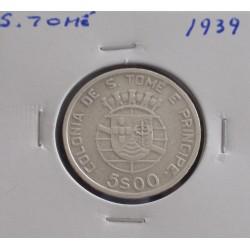S. Tomé - 5 Escudos - 1939...