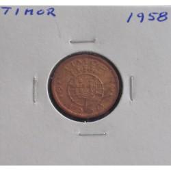 Timor - 10 Centavos - 1958
