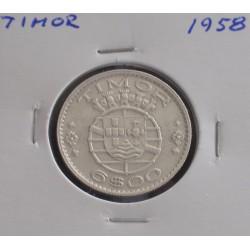 Timor - 6 Escudos - 1958 -...