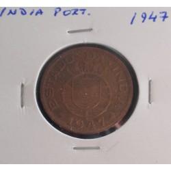 India - 1 Tanga - 1947