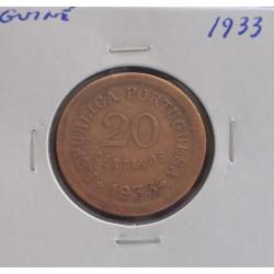 Guiné - 20 Centavos - 1933