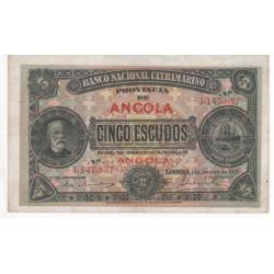 Angola - 5 Escudos -...