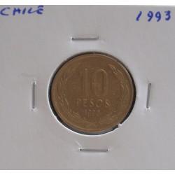 Chile - 10 Pesos - 1993