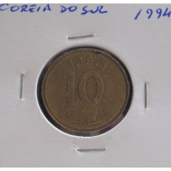 Coreia do Sul - 10 Won - 1994