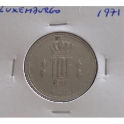 Luxemburgo - 10 Francs - 1971