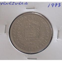 Venezuela - 5 Bolivares - 1973
