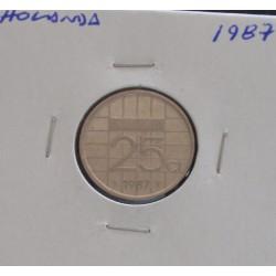 Holanda - 25 Cents - 1987