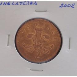 Inglaterra - 2 Pence - 2002