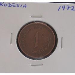 Rodésia - 1 Cent - 1972