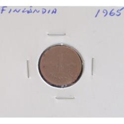 Finlândia - 5 pennia - 1965