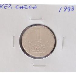 Rep. Checa - 1 koruna - 1993
