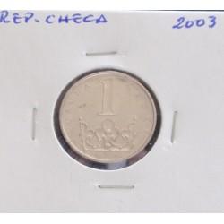 Rep. Checa - 1 koruna - 2003