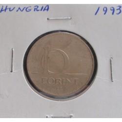 Hungria - 10 Forint - 1993