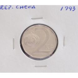 Rep. Checa - 2 Korun - 1993