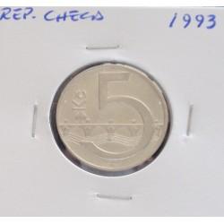 Rep. Checa - 5 Korun - 1993