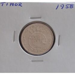 Timor - 3 Escudos - 1958 -...