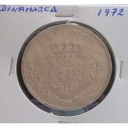 Dinamarca - 5 Kroner - 1972
