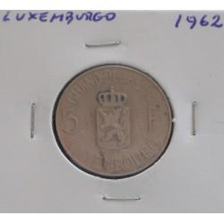 Luxemburgo - 5 Francs - 1962