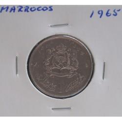 Marrocos - 1 Dirham - 1965