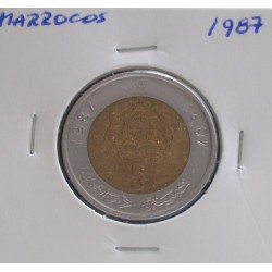 Marrocos - 5 Dirhams - 1987