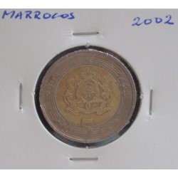 Marrocos - 5 Dirhams - 2002