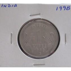 India - 1 Rupee - 1998