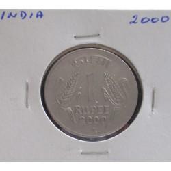 India - 1 Rupee - 2000