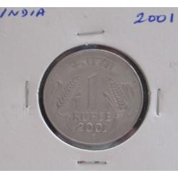 India - 1 Rupee - 2001