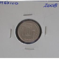 México - 10 Centavos - 2008