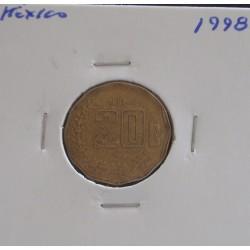 México - 20 Centavos - 1998