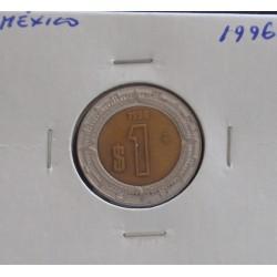 México - 1 Peso - 1996