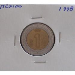 México - 1 Peso - 1998