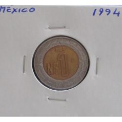 México - 1 Peso - 1994