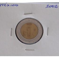 México - 1 Peso - 2002