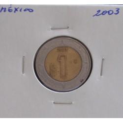 México - 1 Peso - 2003