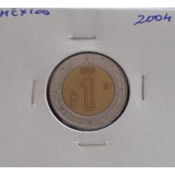 México - 1 Peso - 2004