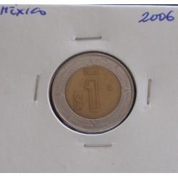 México - 1 Peso - 2006