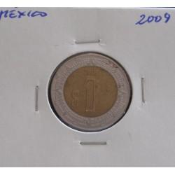 México - 1 Peso - 2009