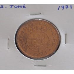 S. Tomé - 1 Escudo - 1971