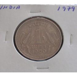 India - 1 Rupee - 1979