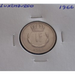 Luxemburgo - 1 Franc - 1966