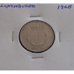 Luxemburgo - 1 Franc - 1968