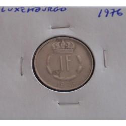 Luxemburgo - 1 Franc - 1976