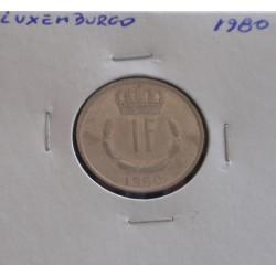 Luxemburgo - 1 Franc - 1980