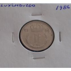 Luxemburgo - 1 Franc - 1988