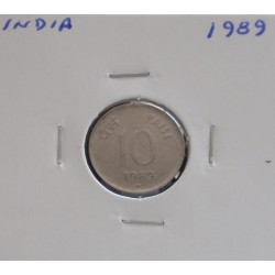 India - 10 Paise - 1989