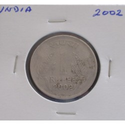 India - 1 Rupee - 2002