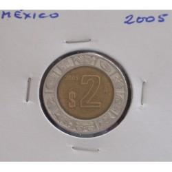 México - 2 Pesos - 2005